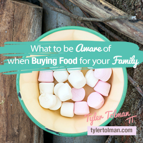 buying food for your family
