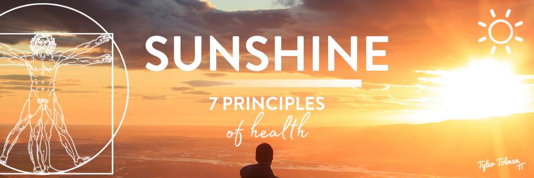 sunshine principle of health
