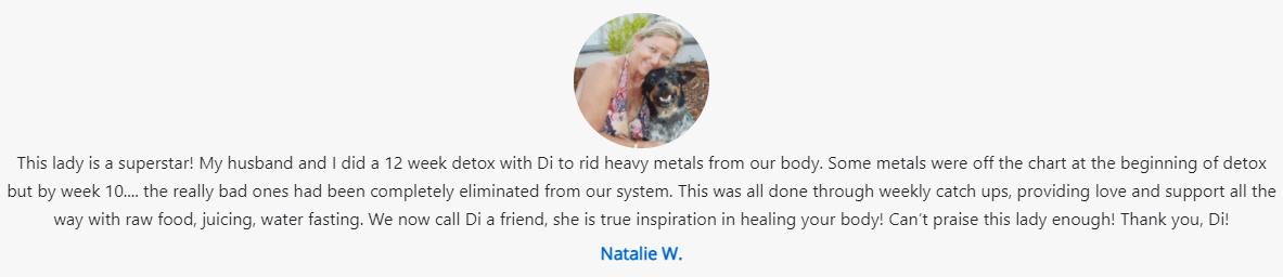 Natalie W Screenshot Testimonial D Shalevski